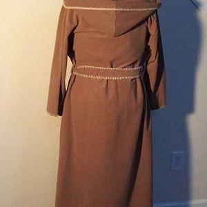 Vassarette Intimates & Sleepwear - Long monastery style robe with hoodie.